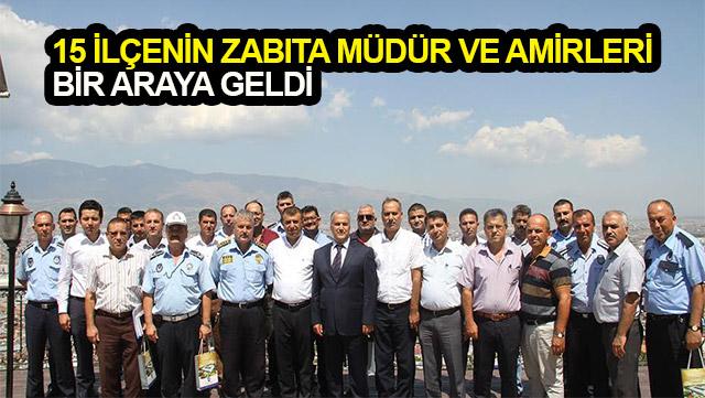 HBB Zabıta Daire Başkanlığı toplantı düzenledi