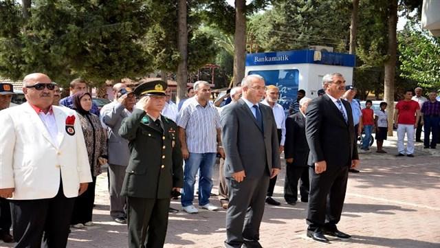 Kumlu'da 'Gaziler Günü' kutlandı