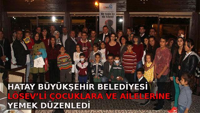HBB LÖSEV'li çocuklara ve ailelerine yemek düzenledi