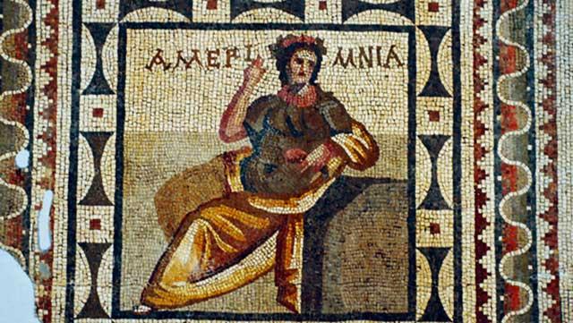 Yurt Dıoşına Kaçırılmış Mozaiklerin Kopyaleri Yapılacak