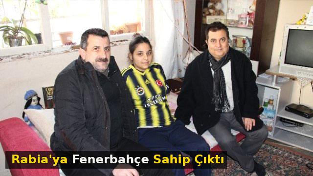 Rabia'ya Fenerbahçe sahip çıktı
