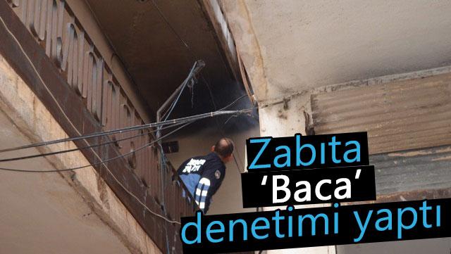 İskenderun Belediyesi 'Baca' denetimi yaptı