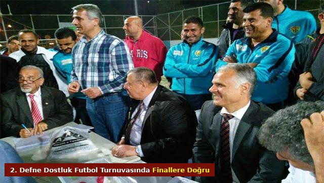 2. Defne Dostluk Futbol turnuvasında finallere doğru