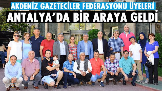 AGF Yönetimi Antalya'da bir araya geldi