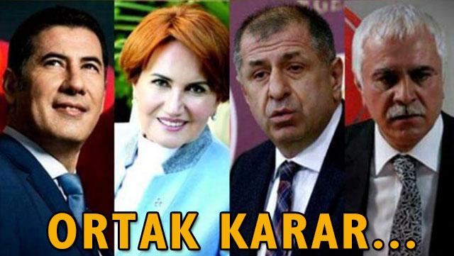 MHP Genel Başkan adaylarından ortak karar