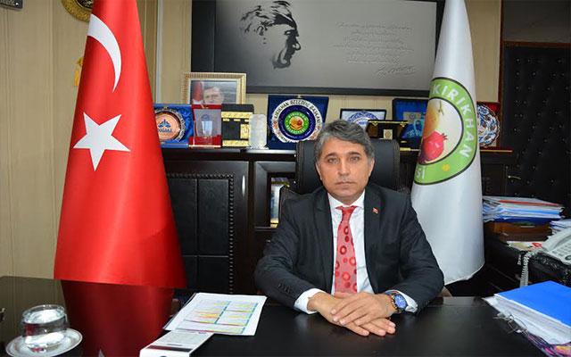 Başkan Yavuz'un taziye mesajı