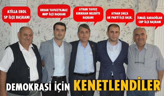 Kırıkhan'da büyük gün bugün