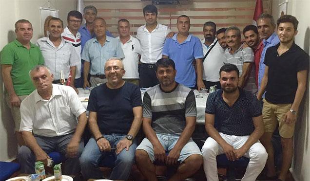 Gökhan Zan Hatay Spor Akademisi'nin çalışmaları kapsamında İskenderun'da