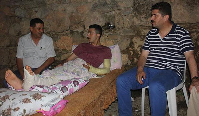Hassa Belediye Başkanı Gazi askeri baba ocağında ziyaret etti