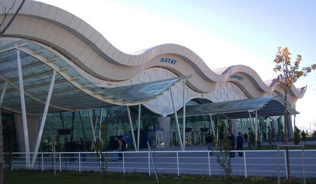 Hatay Havaalanı Ocak ayında 116 Bin yolcuya hizmet verdi
