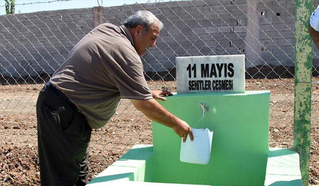 Reyhanlı'ya '11 Mayıs Şehitler Çeşmesi'