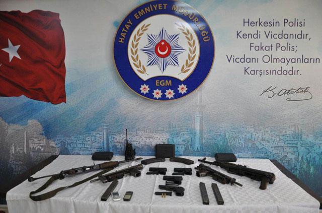 polis-kacak-silah