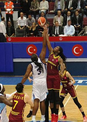 Hatay'ın Melekleri EUROLEAGUE'in ilk maçından mağlup ayrıldı