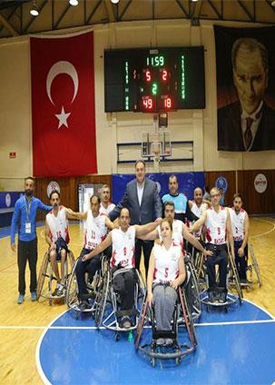 HBB Spor Tekerlekli Sandalye Basketbol Takımı engel tanımadı
