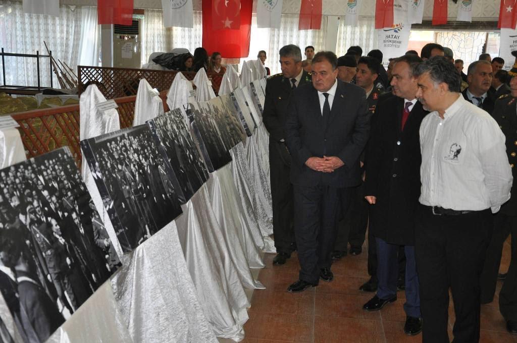 'Mustafa Kemal Atatürk ve İlk Kurşun' adlı resim sergisi açıldı