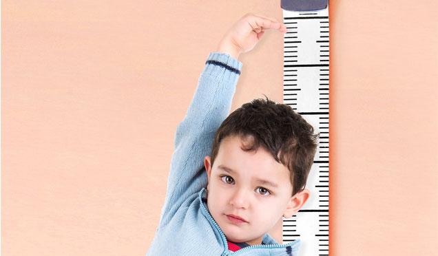 Sağlıklı çocukların en önemli göstergelerinden biri normal büyüme hızı