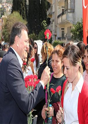 Sevgi Parkı Dünya Kadınlar Günü'nde törenle hizmete girdi
