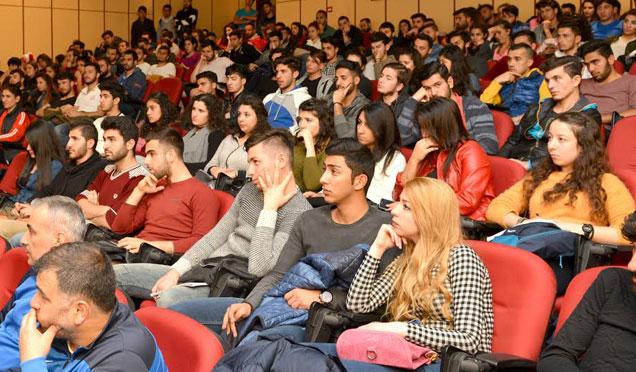 MKÜ'de 'Herkes İçin Spor ve Yaşam Kalitesi' konferansı