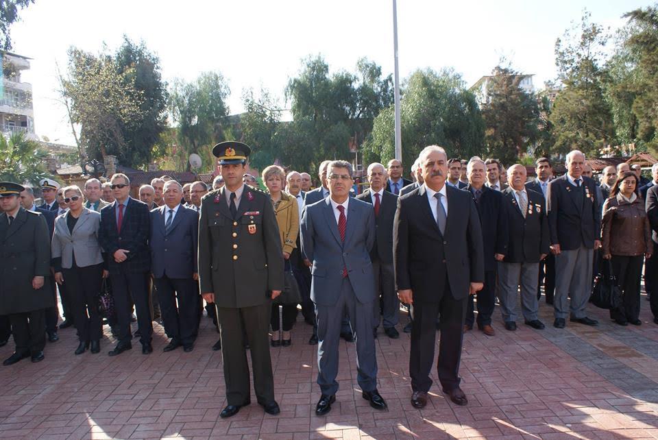 Samandağ'da 18 Mart Şehitleri Anma Günü ve Çanakkale Deniz Zaferi'nin 102. yıl dönümü etkinliği
