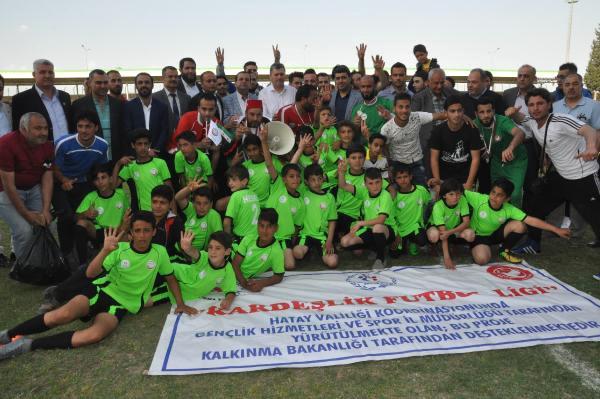 Suriye Takımlarının Katıldığı Kardeşlik Futbol Ligi sona erdi