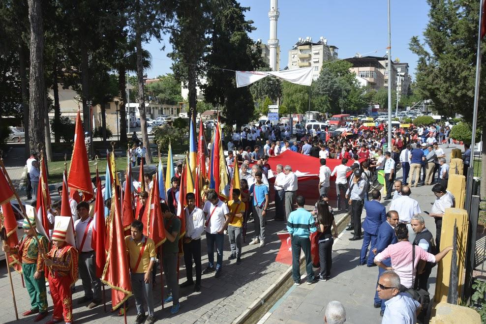 Kırıkhan'da Gençlik Yürüyüşü gerçekleştirildi