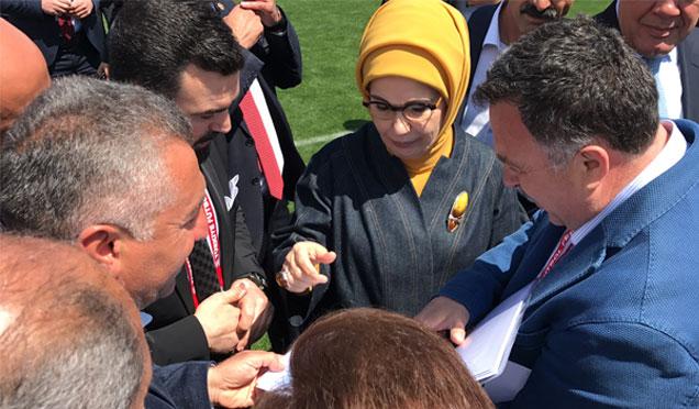 HAYAD Derneğinden Emine Erdoğan'a ziyaret