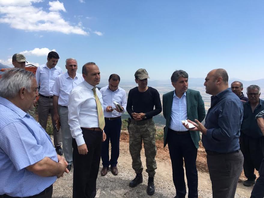 Kırıkhan'da Yamaç Paraşütü için çalışmalarda sona gelindi
