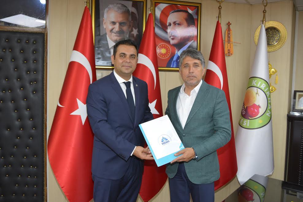 DOĞAKA Genel Sekreteri Yıldız'dan Başkan Yavuz'a ziyaret