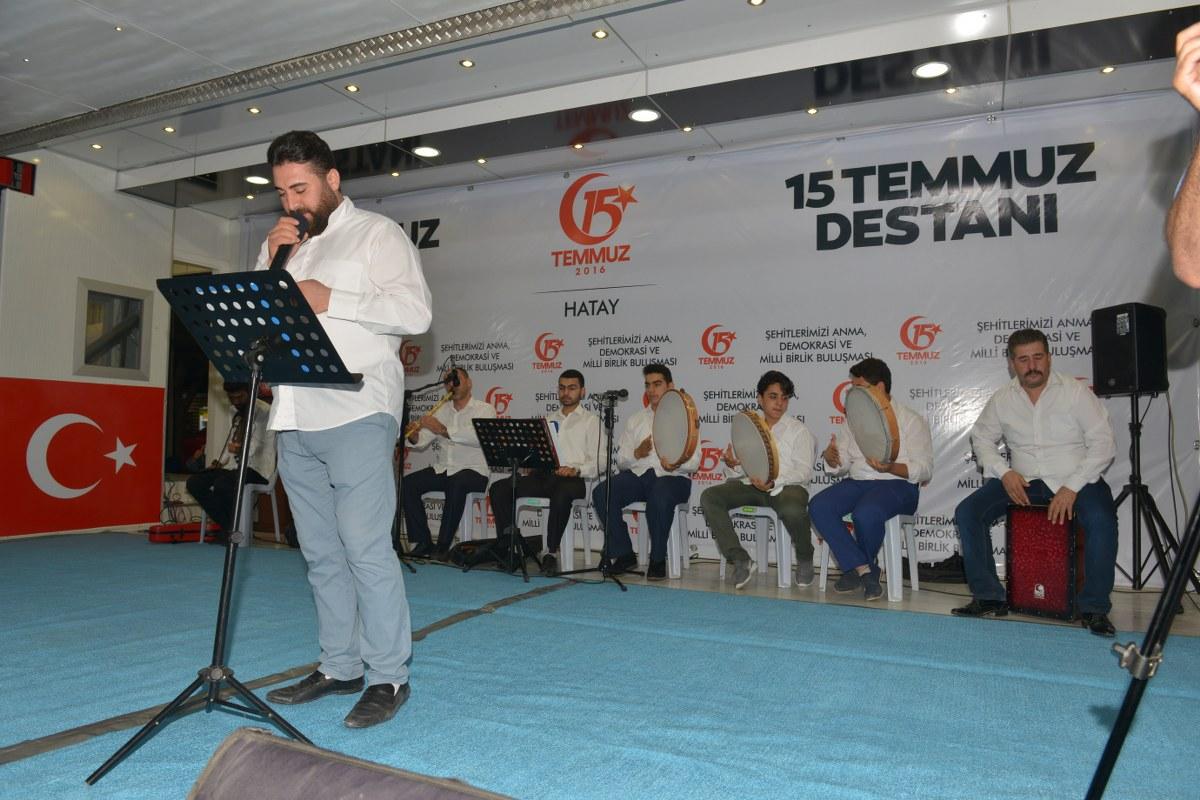 Antakya Belediyesi 15 Temmuz Demokrasi ve Birlik Günü'nde 48 saat kesintisiz çalıştı