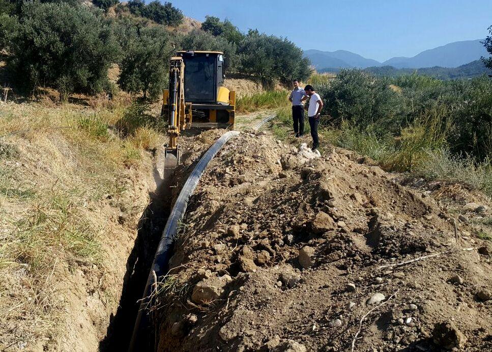 Arsuz'da yetersiz gelen hatlar yenileniyor