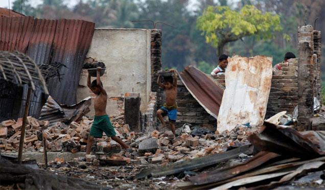 Myanmar için yardım kampanyası