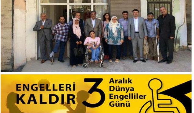 MHP Hatay milletvekili Ahrazoğlu 3 aralık engelliler günü mesajı verdi