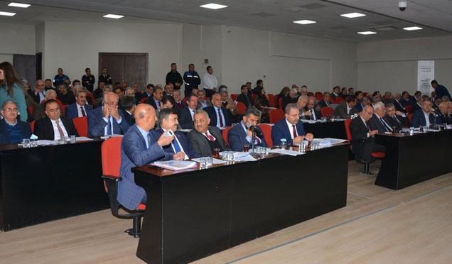 Antakya Belediye Başkanı Kimyeci'den Meclis toplantısında çözüm önerileri