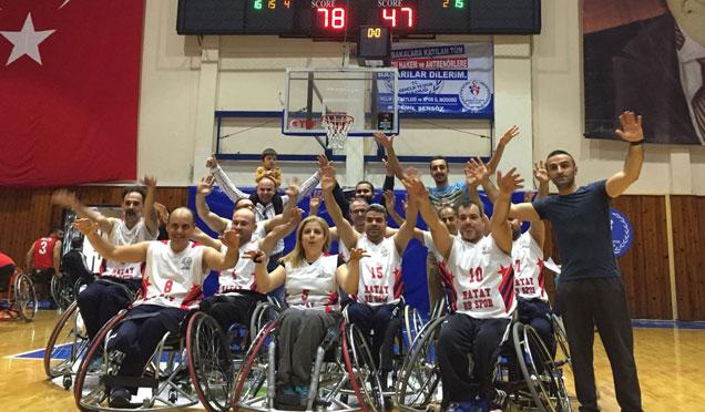 HBB Engelliler Basketbol Takımı şampiyonluk yolunda engel tanımıyor