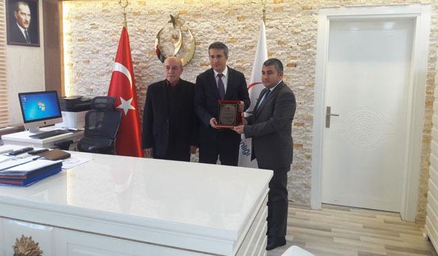Kerimoğlu, Uzm. Dr. Osman Sünger'i ziyaret etti
