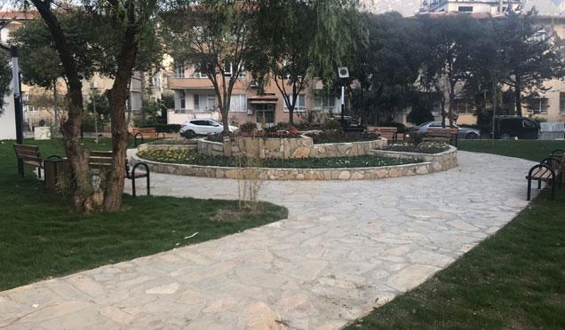 Defne belediyesi park yenileme çalışmaları