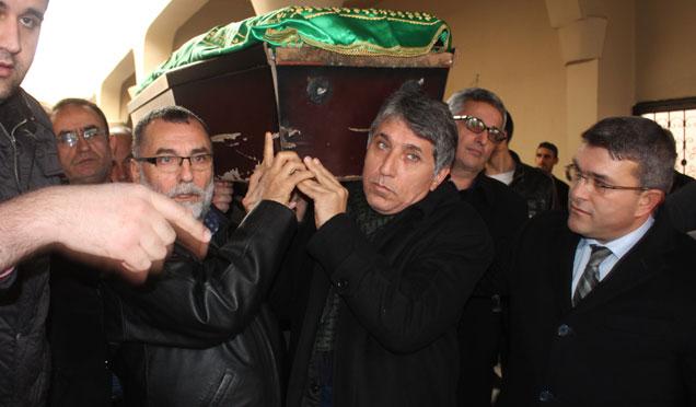 Belediye Başkanı Ayhan Yavuz'un babası Mehmet Yavuz son yolculuğuna uğurlandı