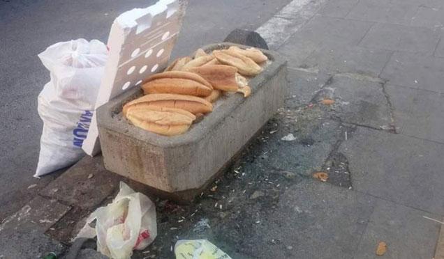 Ekmek israfına dikkat