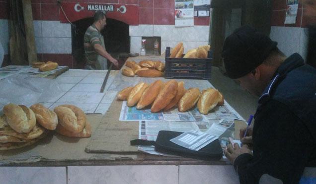 Kırıkhan'da 9 fırına ceza