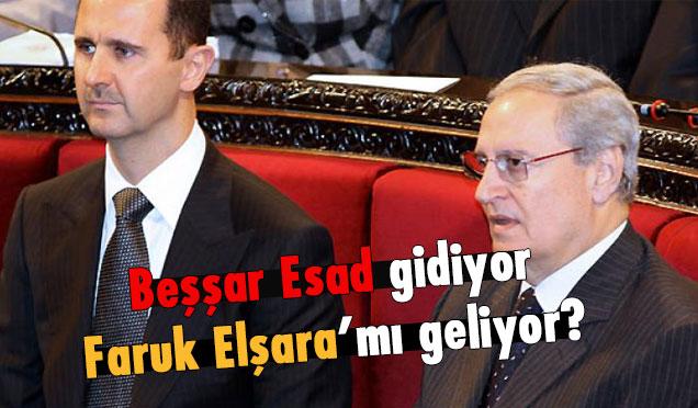 Beşşar Esad'ın yerine Faruk Şera iddiaları!