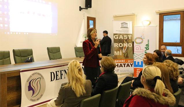 EXPO ve UNESCO tarafından Gastronomi kenti bilgilendirme toplantısı