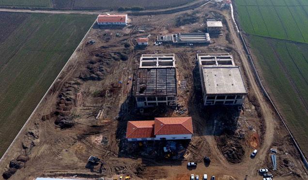 HATSU atıksu arıtma tesisi çalışmaları devam ediyor