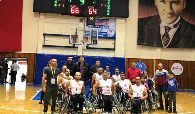 HBB Engelliler basketbol takımı başarılarıyla yoluna devam ediyor