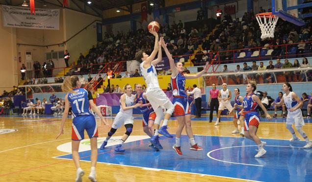 HBB Kadın Basketbol Takımı galibiyetleriyle yoluna devam ediyor