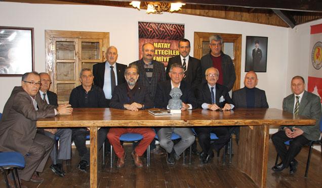 Hatay Gönüllüler Konseyi HGC'yi ziyaret etti