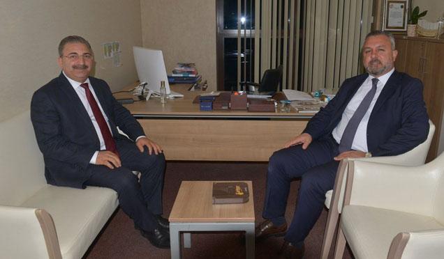 Başkan Kimyeci AKP Genel Merkezi'ni ziyaret etti