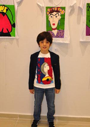 Küçük picasso'nun 2. sergisi açıldı