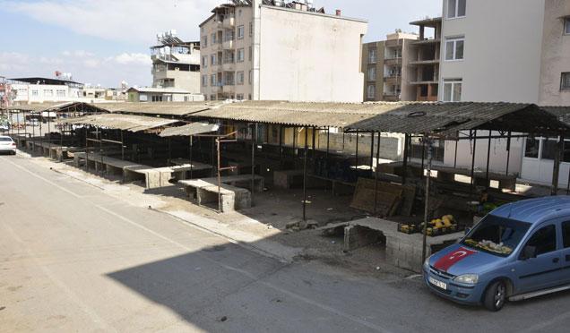 Kırıkhan'a modern semt pazarı müjdesi