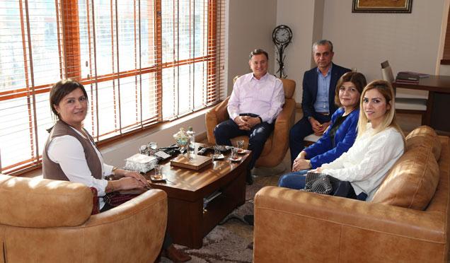 TÜRKAB il temsilcileri, Başkan Savaş'ın misafiri oldu