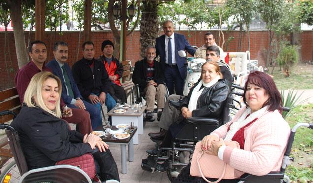Samandağ'da Engelliler için Sosyal Merkez talebi
